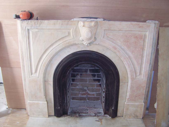 Cleaning Marble Fireplace Fireplaces